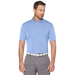 Men's Grand Slam Off Course Regular-Fit Mini-Ottoman Textured Performance Golf Polo