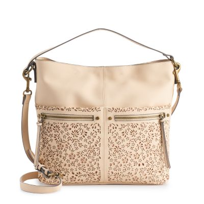 SONOMA Goods for Life? Sondra Floral Perforated Hobo