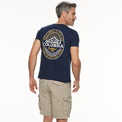 Men's Columbia 'Nothing Keeps Us From Going Outside' Logo Tee