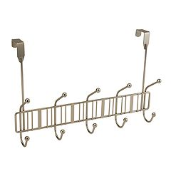 Bath Bliss Simplify 10-Hook Over The Door Rack