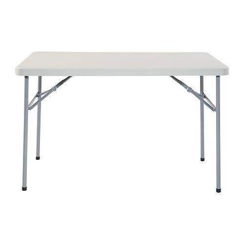 Work Smart Indoor / Outdoor Folding Table