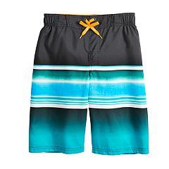 Boys 8-20 ZeroXposur Blue Lagoon Swim Trunks