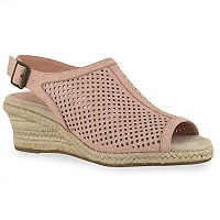 Easy Street Stacy Women's Espadrille Wedges