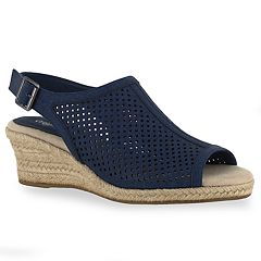 c42ba1a46772 Easy Street Stacy Women s Espadrille Wedges