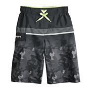Boys 8-20 ZeroXposur Striped Camo Swim Trunks
