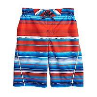 Boys 8-20 ZeroXposur Patriot Striped Swim Trunks