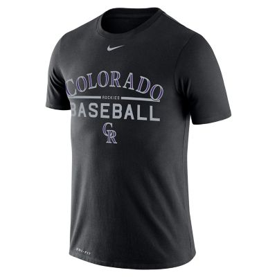 Men's Nike Colorado Rockies Practice Tee