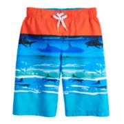Boys 8-20 ZeroXposur Sea Waves Swim Trunks