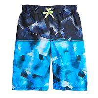 Boys 8-20 ZeroXposur Quantum Stripe Swim Trunks