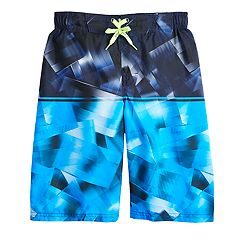 Boys 8-20 ZeroXposur Quantum Stripe Swim Trunks