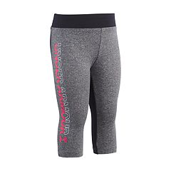 Toddler Girl Under Armour Colorblock Logo Capris