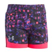 Toddler Girl Under Armour Grid Mesh Shorts