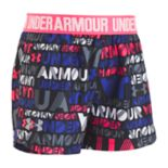 Toddler Girl Under Armour Logo Band Wordmark Play Up Shorts
