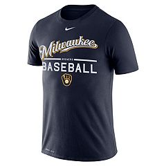 Men's Nike Milwaukee Brewers Practice Tee
