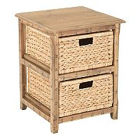 OSP Designs Sheridan 2-Drawer Storage End Table