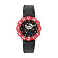 Disney•Pixar Coco Kids' Miguel Leather Watch
