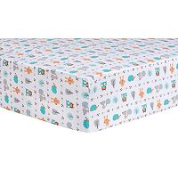 Trend Lab Forest Babies Fitted Crib Sheet