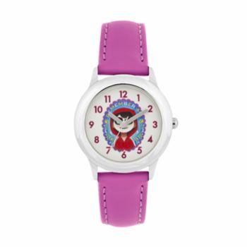 "Disney?Pixar Coco Kids' ""Remember Me"" Miguel Leather Watch"