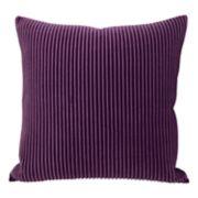 Colordrift Pleated Velvet Throw Pillow