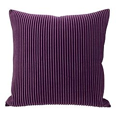 Colordrift Pleated Velvet Throw Pillow