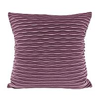 Colordrift Wavy Velvet Throw Pillow