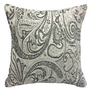 Laurie Paisley Print Reversible Throw Pillow