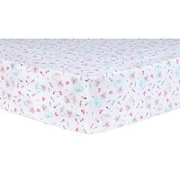 Trend Lab Fox & Flowers Fitted Crib Sheet