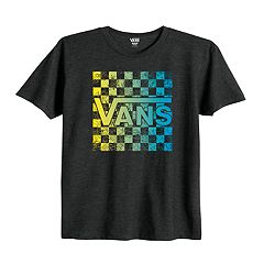 Boys 8-20 Vans Checks Out Tee