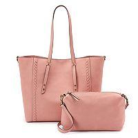 SONOMA Goods for Life™ Paula Tote & Crossbody Bag Set