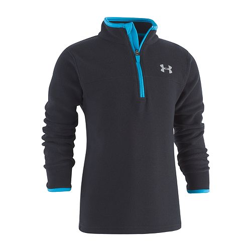 Boys 4-7 Under Armour 1/4-Zip Pullover Fleece Top