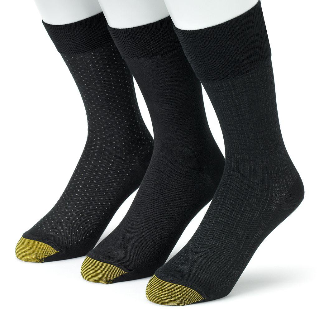 Men's GOLDTOE 3-pk. Dress Socks