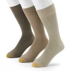 Men's GOLDTOE 3-pk. Dress Socks