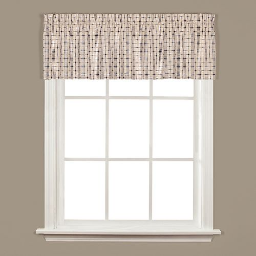Saturday Knight, Ltd. Crosswalk Window Valance