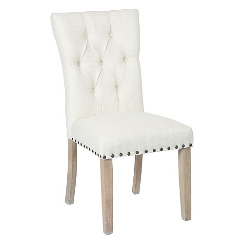 INSPIRED by Bassett Preston Tufted Dining Chair