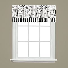 Saturday Knight, Ltd. Le Paris Window Valance