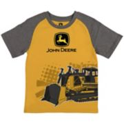 Boys 4-7 John Deere Bulldozer Raglan Graphic Tee