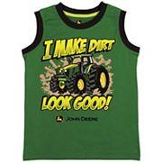 Boys 4-7 John Deere 'I Make Dirt Look Good' Muscle Tank Top