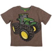 Boys 4-7 John Deere Oversized Tractor Graphic Tee