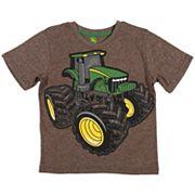 Boys 4-7 John Deere Oversized Tractor Graphic Tee