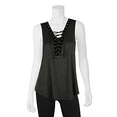 Junior's IZ Byer Lace-Up Tank
