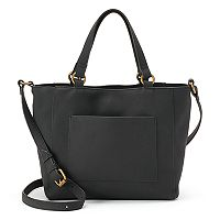 SONOMA Goods for Life™ Sienna Double-Entry Satchel