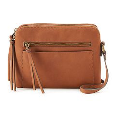 SONOMA Goods for Life™ Parker Double-Entry Crossbody Bag