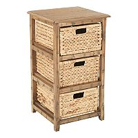 OSP Designs Sheridan 3-Drawer Storage End Table