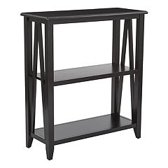 OSP Designs Santa Cruz 3-Shelf Bookshelf