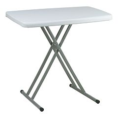 Work Smart Personal Folding Tray Table