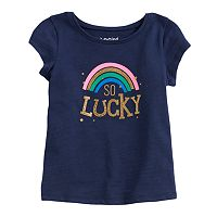 Toddler Girl Jumping Beans® Lucky Graphic Tee