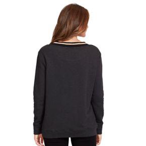 Women's Gloria Vanderbilt Lurex-Trim Sweatshirt
