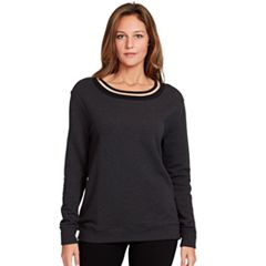 Women's Gloria Vanderbilt Lurex-Trim Sweatshirt