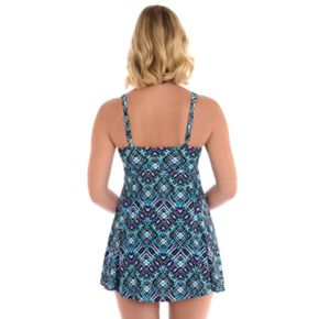 Women's Upstream Thigh Minimizer Bow-Front Swimdress