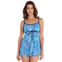 Women's Upstream Thigh Minimizer Empire Swimdress